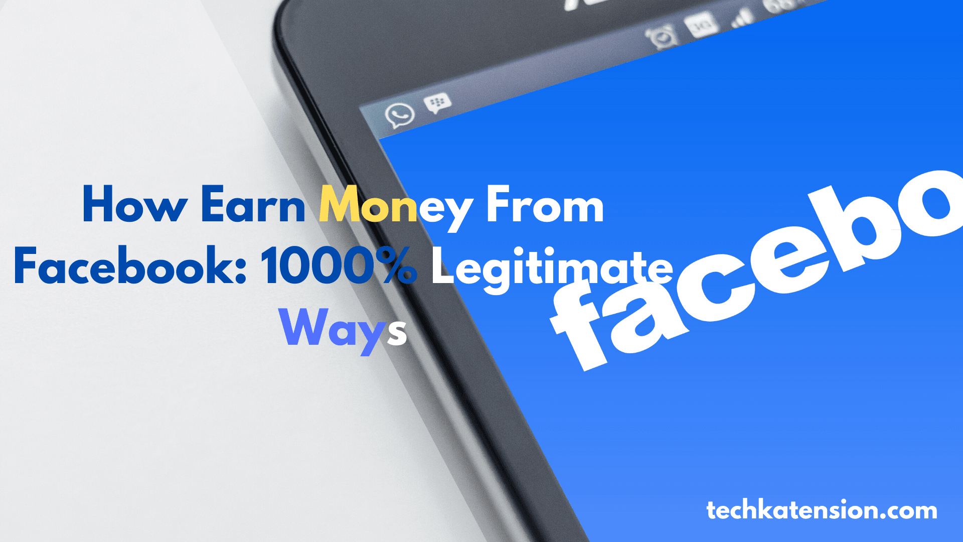 how earn money from facebook page