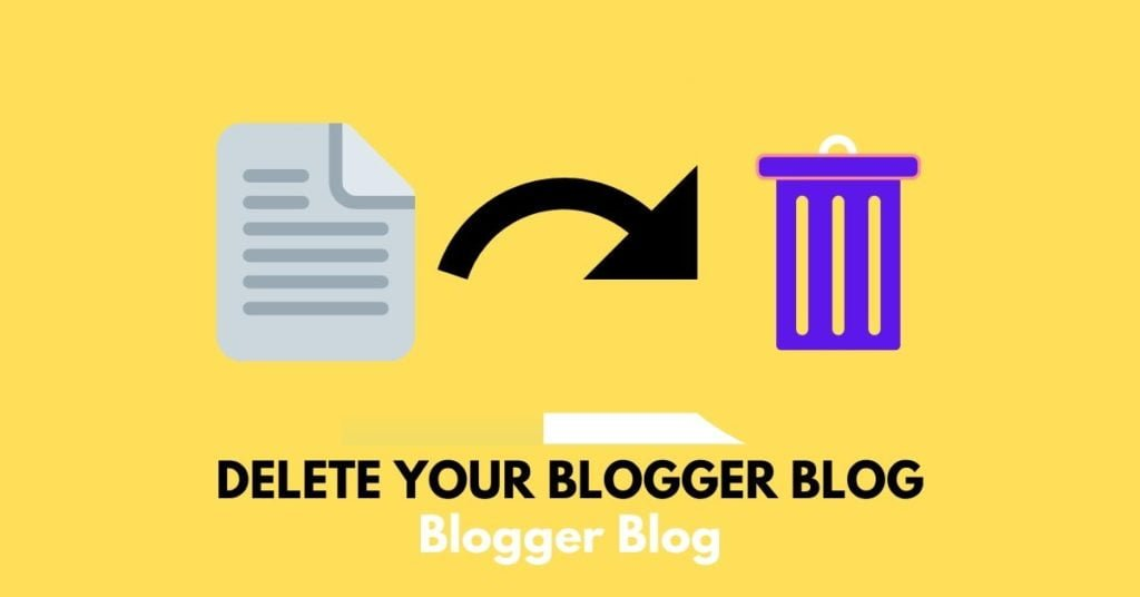How to Delete a Blog on Blogger,delete blog on blogger